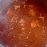 トマトとトマト缶入りリコピンいっぱいカレー