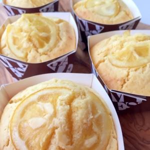 HMで簡単おやつ♪爽やか〜はちみつレモンケーキ