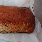 バナナとブルーベリーのパウンドケーキ