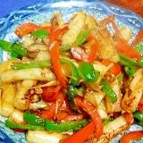 野菜たっぷりのトッポギ炒め