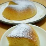 HM使用。さつまいもの炊飯器ケーキ♪