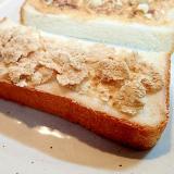 クリームチーズと玄米フレークのトースト