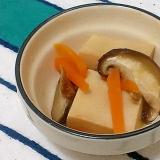 めんつゆで簡単♪高野豆腐と椎茸のさっと煮