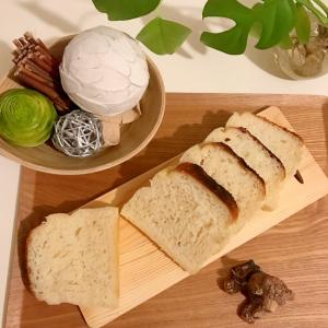 米粉湯種deふわもち生食パン♪