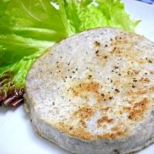 里芋のステーキ