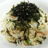 キャベツと韓国のりと天かすの絶品サラダ