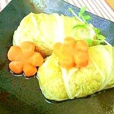 祝!カサ増し部門賞受賞!干し白菜でロール白菜っ♪