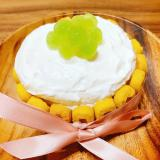 1歳誕生日 スマッシュケーキ