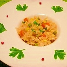 減塩☆炊飯器でチキンライス