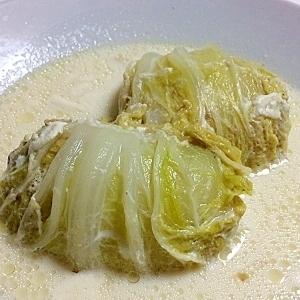 きゃべつの代わりに白菜でロール白菜