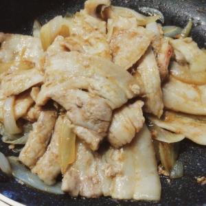 男飯★豚バラ肉と玉葱の甘辛照り焼き丼