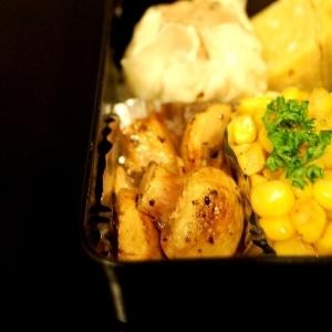 お弁当☆マッシュルームのオレガノ焼き☆