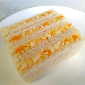 朝食に☆卵サンド