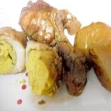 鶏手羽元と里芋の煮物 圧力鍋で