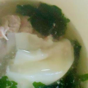 ツルンと焼売スープ