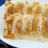 簡単にんにく醤油で食べるパリパリワンタン餃子