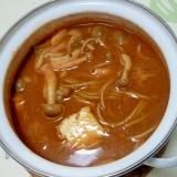 変わりトマトカレー蕎麦++