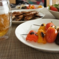 彩り野菜の蒸し焼