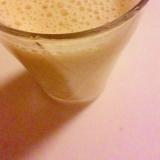 バナナと蜜柑のフルーツジュース