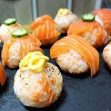 サーモンづくし!手まり寿司