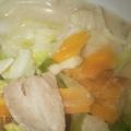 残り野菜を大量消費☆豚バラ肉で和風スープ♬