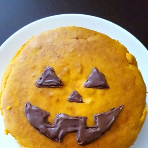 ★ハロウィンに♪かぼちゃのケーキ★
