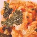 白いご飯によく合う!錦松梅と味付け海苔の納豆