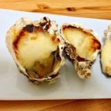 殻付き牡蠣でおもてなし☆牡蠣のチーズ焼き