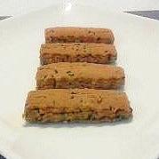 きな粉とゴマの簡単ちんすこう風クッキー