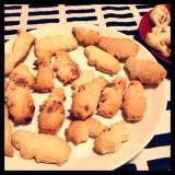 ホットケーキミックスで簡単型抜きクッキー♡