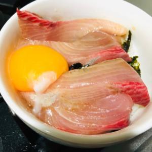 黄身のせヒラマサ丼