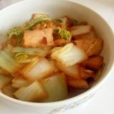 白菜と厚揚げの煮浸し♪