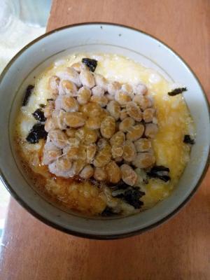 納豆入り美味しい卵かけご飯