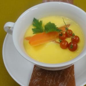 洋風にアレンジ♪彩り茶碗蒸し