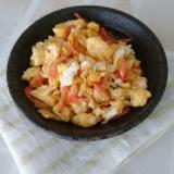 卵1個で作る桜えびのいり卵