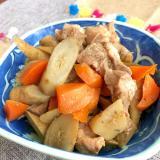 豚バラと根菜の煮物