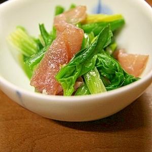 ほうれん草と生ハムのシンプルサラダ