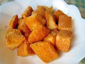 揚げないからローカロリー きなこドーナツ風トースト