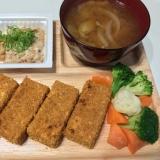 ノンフライ高野豆腐カツ
