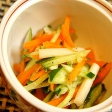 旬のたけのこで韓国風、タケノコのナムル