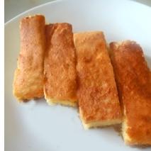 簡単!シンプルなさつまいものスティックケーキです。