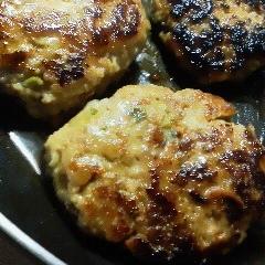 豚挽き肉で 豆腐ハンバーグ 和風味