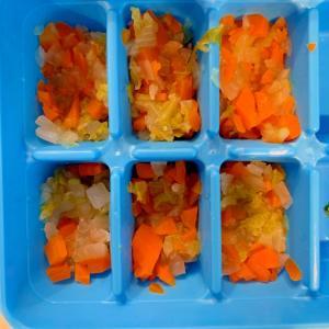 離乳食後期☆スープ用野菜のストック