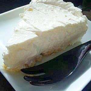 クリーミー♪手作りレアチーズケーキ♪