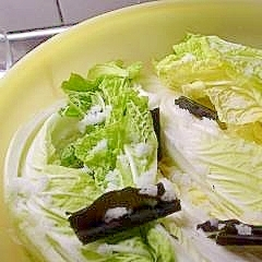 意外と簡単♪自家製白菜漬け