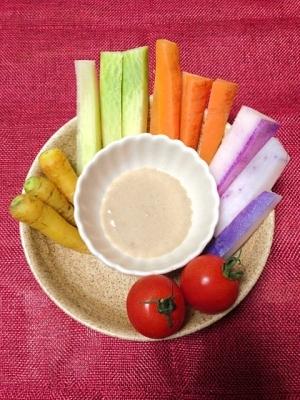野菜がおいしー♡うまうまバーニャカウダ♡