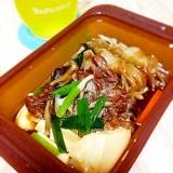 シリコンスチーマで簡単肉豆腐