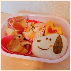 スヌーピーのお弁当♡