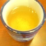 ☆*レモン果汁入り緑茶割り焼酎☆。.:*:・'゜★