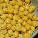 戻さずに圧力鍋で♪ヒヨコ豆(ガルバンゾ)の水煮